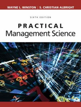 Practical Management Science (with CD-ROM and Microsoft Project 2003 120 Day Version) 0534217745 Book Cover