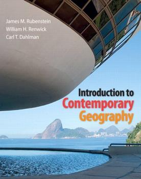 Introduction to Contemporary Geography, Modified Mastering Geography with Pearson eText and ValuePack Access Card 0321803191 Book Cover