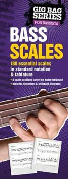 Plastic Comb The Gig Bag Book of Bass Scales Book
