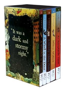 The Wrinkle in Time Quintet - Digest Size Boxed Set 0312373511 Book Cover