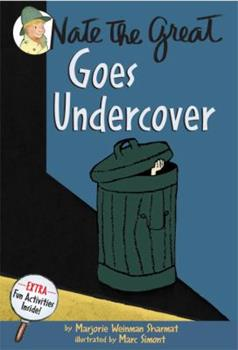 Nate the Great Goes Undercover 0440463025 Book Cover