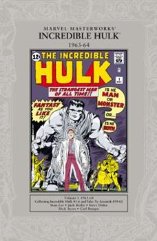 Marvel Masterworks: The Incredible Hulk, Vol. 1 (Second Edition) - Book #8 of the Marvel Masterworks