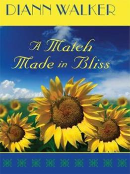 Hardcover A Match Made in Bliss (Bliss Village Series #1) (Love Inspired #341) [Large Print] Book