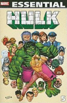 Essential Incredible Hulk, Vol. 5 (Marvel Essentials) - Book  of the Essential Marvel