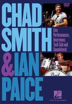 DVD Chad Smith and Ian Paice: Live Performances, Interviews, Tech Talk and Soundcheck Book