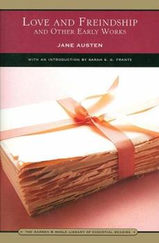Paperback Love and Freindship (Barnes & Noble Library of Essential Reading): And Other Early Works Book