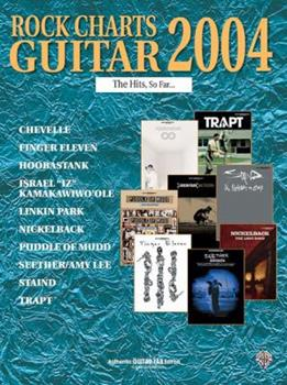 Paperback Rock Charts Guitar 2004 The Hits, So Far...: Authentic Guitar TAB Book