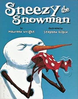 Paperback Sneezy the Snowman Book