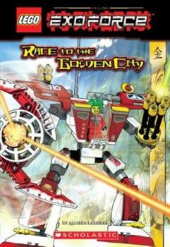 Mass Market Paperback Exo-force: Race To The Golden City (Lego) Book