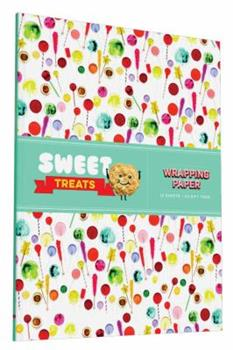 Hardcover Sweet Treats Wrapping Paper Book