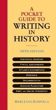 Paperback A Pocket Guide to Writing in History Book