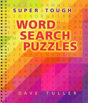 Super Tough Word Search Puzzles 0806985259 Book Cover