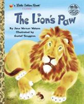 The Lion's Paw (Little Golden Book) - Book  of the Little Golden Books