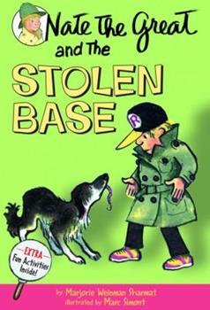 Nate the Great and the Stolen Base 0698207084 Book Cover