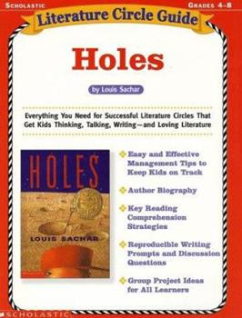 Literature Circle Guide: Holes 0439355389 Book Cover