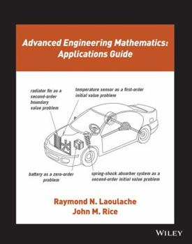 Paperback Advanced Engineering Mathematics: Applications Guide Book