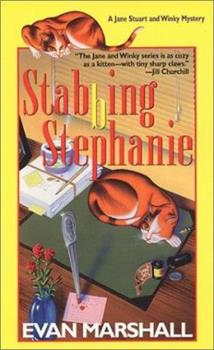 Stabbing Stephanie (Jane Stuart and Winky Mystery) 157566657X Book Cover