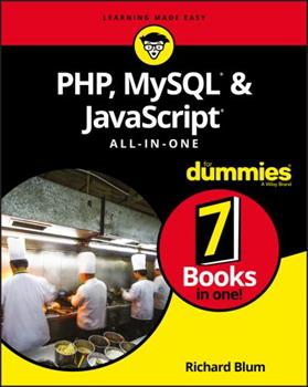 Php, Mysql, & JavaScript All-In-One for Dummies 1119468388 Book Cover