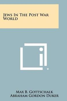 Paperback Jews in the Post War World Book