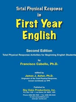 Paperback TPR in First Year English Book