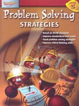 Paperback Problem Solving Strategies: Grade 5 Book