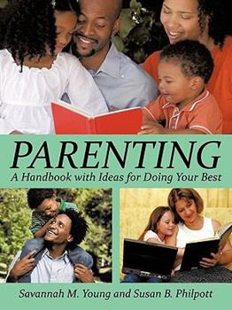 Paperback Parenting: A Handbook with Ideas for Doing Your Best Book