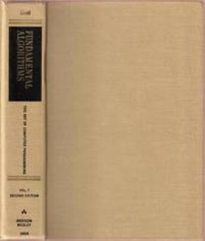 Hardcover The Art of Computer Programming, Vol. 1: Fundamental Algorithms, 2nd Edition Book