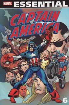 Essential Captain America, Vol. 6 - Book  of the Essential Marvel