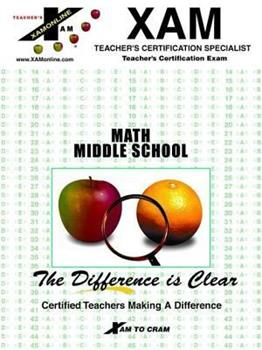 Paperback Math Middle School Book