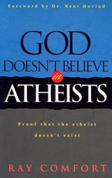 Paperback God Doesn't Believe in Atheists Book