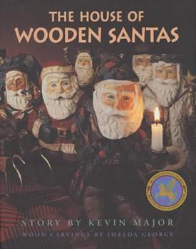 House of Wooden Santas 0765108291 Book Cover