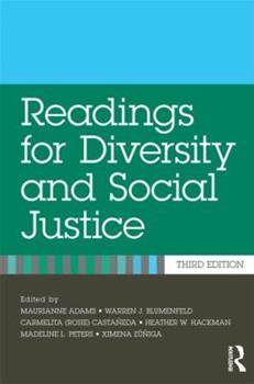 Paperback Readings for Diversity and Social Justice Book