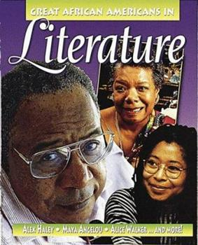 Paperback Great African Americans in Literature (Outstanding African Americans) Book