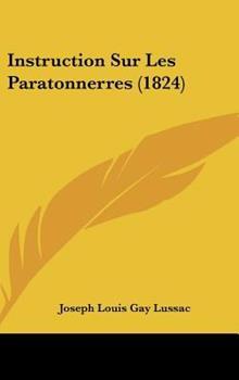 Hardcover Instruction Sur les Paratonnerres Book