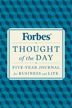 Flexibound Forbes Thought of the Day: Five-Year Journal for Business and Life Book