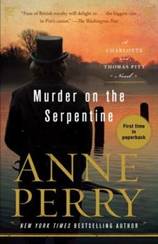 Murder on the Serpentine 0425284980 Book Cover
