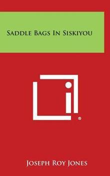 Hardcover Saddle Bags in Siskiyou Book