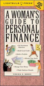 A Woman's Guide to Personal Finance 0965093220 Book Cover