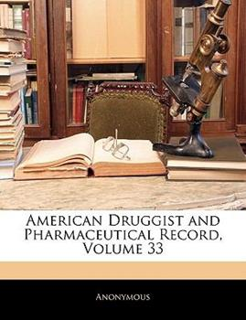 Paperback American Druggist and Pharmaceutical Record Book