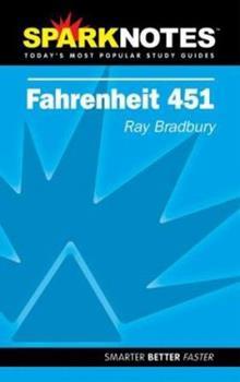 Paperback Spark Notes Fahrenheit 451 Book