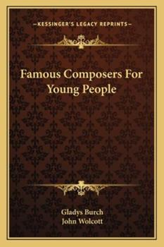 Paperback Famous Composers For Young People Book