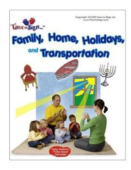 Paperback Young Children's Theme Based Curriculum: Family, Home, Holidays and Transportation Book