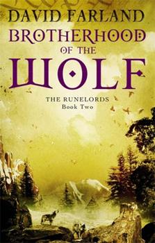 Paperback Brotherhood Of The Wolf: Book 2 of the Runelords Book
