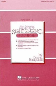 Paperback The Jenson Sight Singing Course (Vol. II) (CHANT) Book
