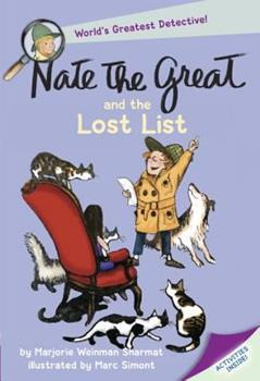 Nate The Great And The Lost List (Nate The Great) 0440462827 Book Cover
