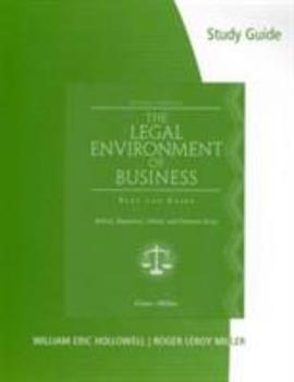 Study Guide for Cross/Miller's the Legal Environment of Business 032466429X Book Cover