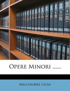 Paperback Opere Minori ... ... Book