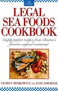 The Legal Seafoods Cookbook 0385231830 Book Cover