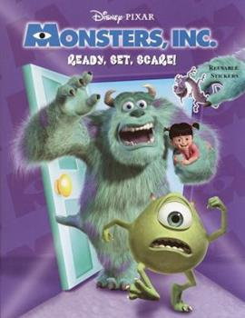Paperback Ready, Set, Scare (Monsters, Inc.) Book