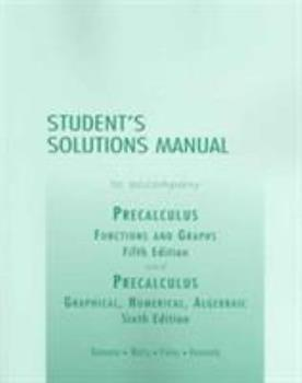 Precalculus: Functions and Graphs/ Graphical, Numerical, Algebraic 0321132033 Book Cover